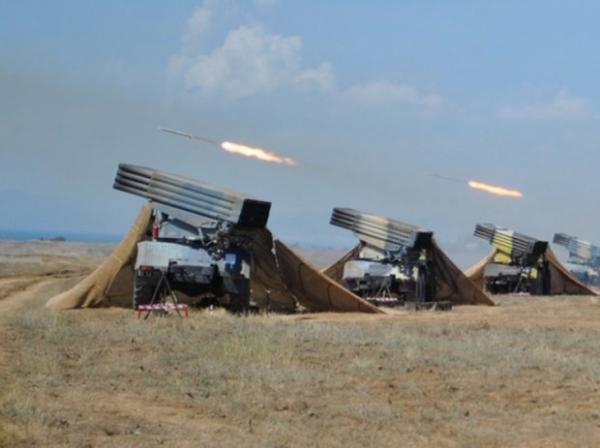 Azərbaycan Ordusunun döyüş texnikası cəbhədə