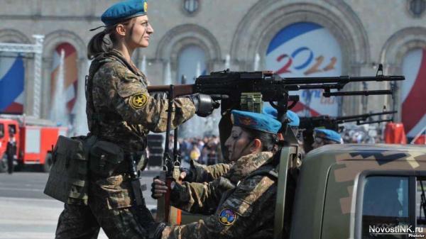 Ermənistan ordusunun snayper qadınları