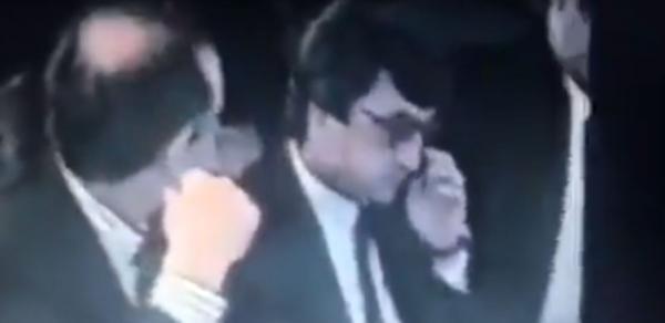 Sarkisyan kriminal aləm ilə bir masada