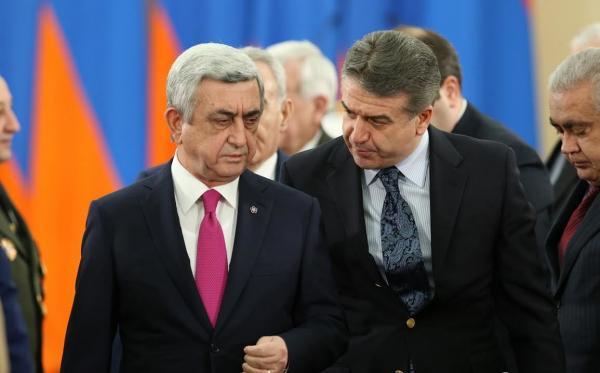 Serj Sarkisyan və Karen Karapetyan