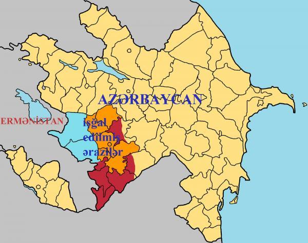 Azərbaycanın Ermənistan tərəfindən işğal edilmiş əraziləri