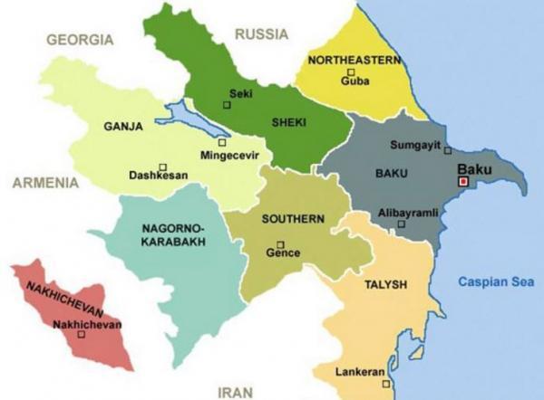 Ermənilərin Azərbaycanı parçalama planı