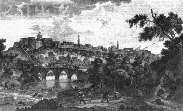 İrəvan qalası - rəssam Q.Serqeviç (1796-cı il)