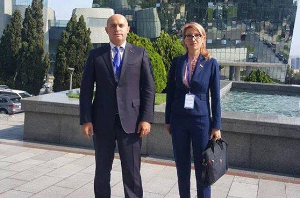 Erməni deputatlar Armen Aşotyan və Mane Tandilyan Bakıda
