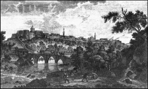 İrəvan qalası, 1796-cı il, rəssam Q.Serqeviç