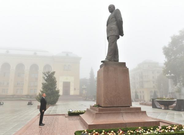 Prezident Gəncədə