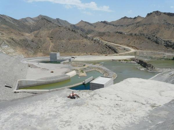 Xudafərin su anbarı - 2010-cu il