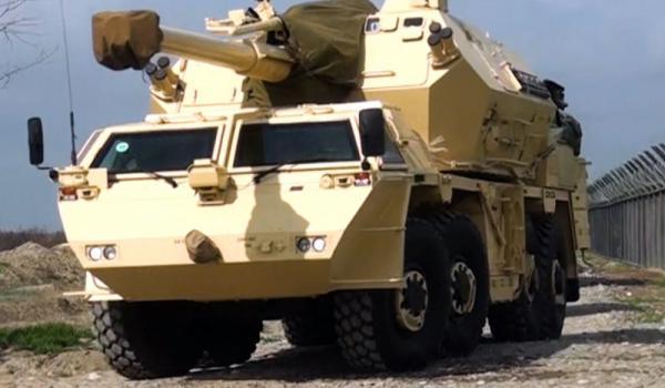 DANA özüyeriyən artilleriya qurğuları