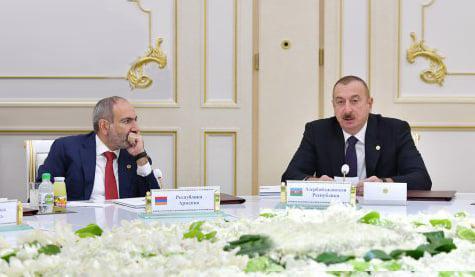 11 Oktyabr, Türkmənistanın Aşqabad şəhərində keçirilən MDB Sammitində Azərbaycan Prezidenti İlham Əliyevin çıxışı.
